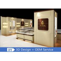 Buy Custom Wooden Glass Jewellery Display Cabinets Cream - Colored For Retail Shop at wholesale prices & Custom Wooden Glass Jewellery Display Cabinets Cream - Colored For ...