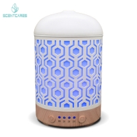 Quality Metal Essential Oil Ultrasonic Cool Mist Diffuser for sale
