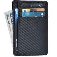 Buy cheap Leather Wallets for Men & Women – RFID Blcking Slim Design Front Pocket from wholesalers