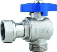 Quality DN15 DN20 Gas Stove Valves With Plastic Pipe Adapter Female Threaded Nut for sale