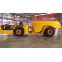 Quality Mining Remote Control Dump Truck , Tunneling 30T Dump Truck High Travel Speed for sale