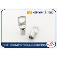 Quality Crimp Terminal Tin Plated Battery Cable Lugs Terminals / Tin Plated Copper Lugs for sale