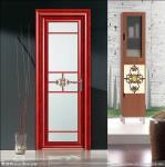 Quality Waterproof Hinge Aluminium Casement Door Electrophoresis Champagne ISO9001 / CE for sale