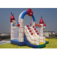 Quality PVC Outdoor Commercial Inflatable Bouncer With Slide , Combo Jumping Castle for sale
