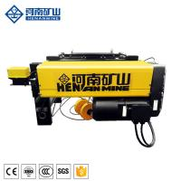 China 3 Phase 1 Ton Electric Wire Rope Hoist Low Speed Wireless Remote Control on sale