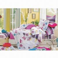 Quality Bedding Set, Made of 100% Cotton, Environment-friendly with Vivid Color and Nice Pattern for sale