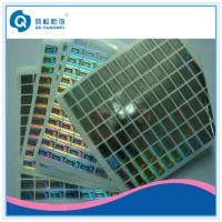Quality Embossing Custom Hologram Stickers for sale