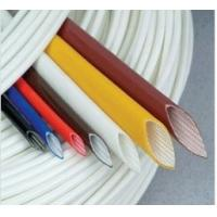 Quality Extruded Silicone rubber fiberglass sleeving for sale