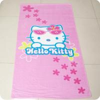 Quality Hello Kitty kids beach towel for sale