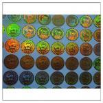 Quality Anti-fake Hologram Sticker ,Holographic Label 3D Round Security Hologram Sticker ,Holographic Label 3D Laser  label for sale