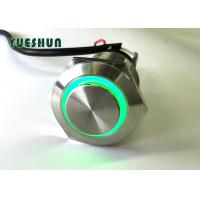 Quality Metal Push Button Switch LED Illuminated , Car LED Push Button On Off Switch for sale