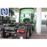 Quality Unloading HOWO A7 6 X 4 TRACTOR TRUCK , PRIME MOVER DOMINEERING WILD Understated Luxury 290HP for sale