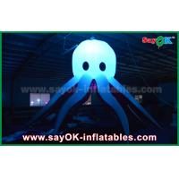 Quality Different Color Inflatable Lighting Decoration Inflatable Octopus With Led Light for sale
