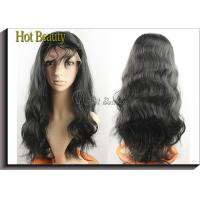 Quality Virgin Human Hair Full Head Lace Wigs With Baby Hair , Natural Hairline Human Lace Wigs for sale