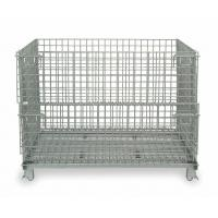 Quality Foldable Wire Mesh Container Q235 50x100 Wire Mesh Pallet Cages for sale