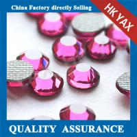 Quality Rose SS10 SS16 SS20 dmc hotfix crystals,cheap hotfix crystal dmc,hotfix crystal stone dmc for phone shell decoration for sale