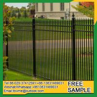 Quality Detroit used aluminum fence decorative metal tubular fencing for sale