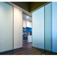 China Modern Frosted  Glass Office Partition Walls / Glass Office Dividers on sale