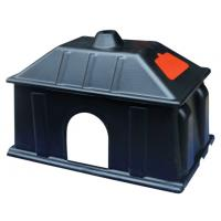 Quality Black Warmly Plastic Piglet Heat Preservation Box On Pig Farrowing Crate for sale
