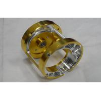 China Professional  Custom Precision CNC Machining Services Gold Anodized For lights , toys on sale