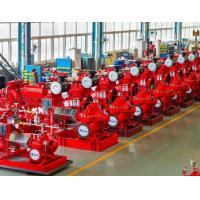 Quality Large Capacity Ul Listed Fire Pumps / Bronze Fire Fighting Diesel Pump for sale