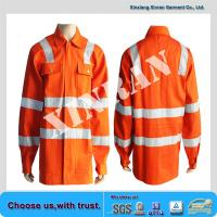 Buy flame resistant waterproof jacket NFPA2112 proban finished fireproof coveralls at wholesale prices