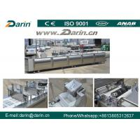 Buy Peanut Candy Bar Maker Cutting Machine / Cereal Fruit Nut Bar Production Line at wholesale prices