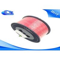 Quality G652D Bare Indoor Fiber Optic Cable Low Insertion Loss With PVC / LSZH Jacket for sale