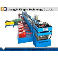 Buy cheap Gear Box Guardrail Roll Forming Machine With Panasonic PLC 380V 50Hz from wholesalers