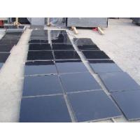 Quality Natural Absolute Shanxi Black Granite Slabs (DX) for sale