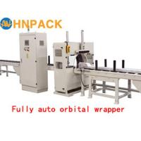 Quality Fully Automatic Bar Wrapping Machine/Horizontal Orbital Wrap Machine For Door Frame, Steel Tube, Timber, Pipe And Bar for sale