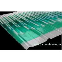 Quality Corrugated Polycarbonate Roof Sheet for sale