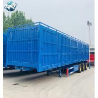 China 3 Axle Side wall van type semi truck trailer for sale on sale