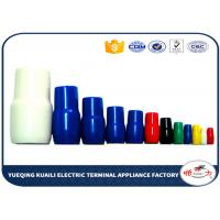Quality PVC Vinyl Wire End Caps For Electric Wire Cable Plastic Wire Terminal Cap V80 for sale