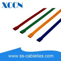 China Duct Stainless Steel Wire Cable Ties Alternatives , Colored Zip Ties Tyraps on sale