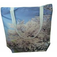 Quality Reusable 100% cotton fabric digital spray organic plain cotton bags for sale