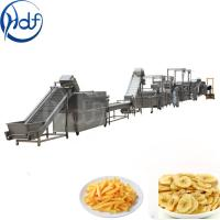 Quality 500kg / H Capacity Banana Chips Making Machine , Continuous Crisps Making Machine for sale