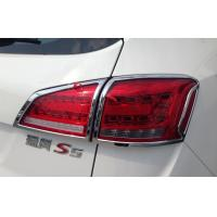 Quality Custom Auto Headlight Covers For JAC S5 2013 , Tail Lamp Chromed Frame for sale