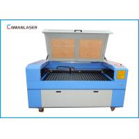 Quality 1610 100W Double Head MDF Plywood Fabric Laser Cutting Machine With Auto Focus System for sale