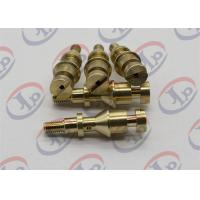 Quality Precision Metal Parts, 5.6*24mm Brass Slotted Bolt With M3 External Thread for sale