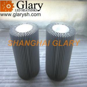 Quality Heatsinks Extrusion Aluminum Profiles LED 110mm*62mm*160mm for sale