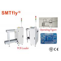 China Fully Automated SMT Smt Magazine Loader , White PCB Destacker 350*250mm on sale