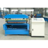 Quality aluminum corrugated roof making machine for sale