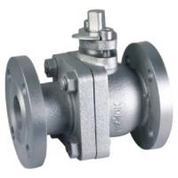 Quality Adjustable Cast Iron Flanged Ball Valve 2pc Ball Valve Optional Lockable Handle for sale