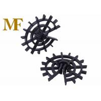 Quality Wheel Concrete Plastic Rebar Cage Spacers Position Reinforcement Cages ISO9001 for sale