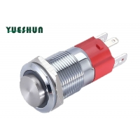 Quality Momentary Maintained 16mm 10A Push Button Switch for sale