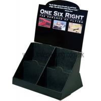 Quality Customised cardboard display PDQ display for DVD, Magazine, Stationery for sale