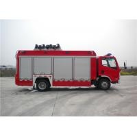 8 Ton 2 KW Light Fire Truck Wireless Controlling With Auxiliary Lighting