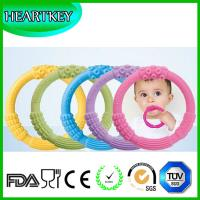Buy New products hot sale soft promotion silicone baby toothbrush teether at wholesale prices