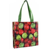 Quality Reusable Grocery Bags Custom Printed Promotion Laminated Non Woven Bag for sale